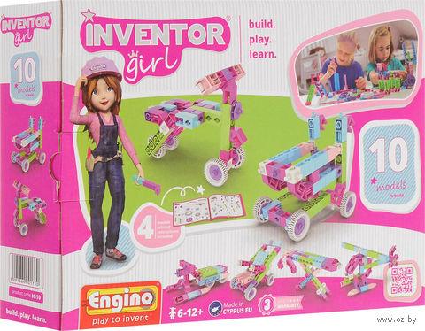 """Конструктор """"Inventor Girl. 10 моделей"""" (73 детали) — фото, картинка"""