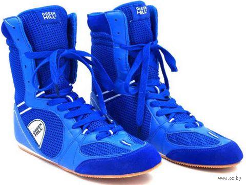 Обувь для бокса PS005 (р. 39; синяя) — фото, картинка