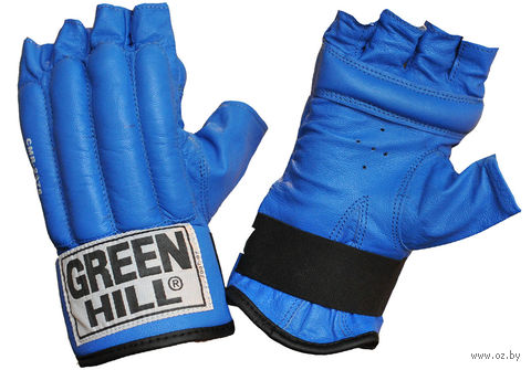 """Перчатки снарядные """"Royal"""" (M; шингарты; синие) — фото, картинка"""