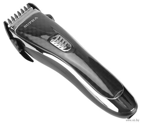 Машинка для стрижки волос Supra HCS-209 (черно-серебристая) — фото, картинка
