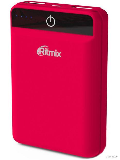 Портативное зарядное устройство Ritmix RPB-10003L (коралловое) — фото, картинка