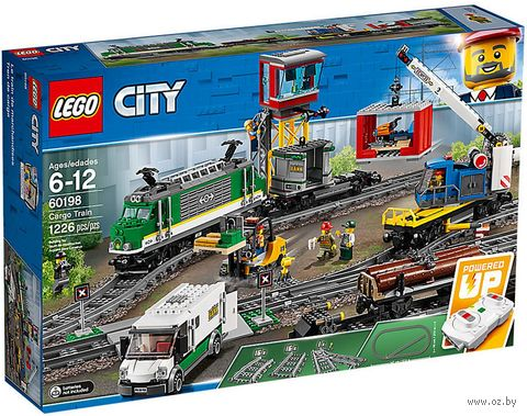 """LEGO City """"Товарный поезд"""" — фото, картинка"""