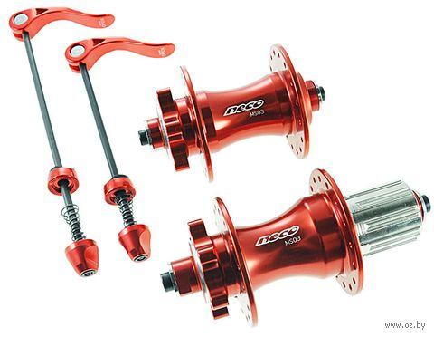 """Комплект велосипедных втулок для колеса """"MS03"""" (красный) — фото, картинка"""