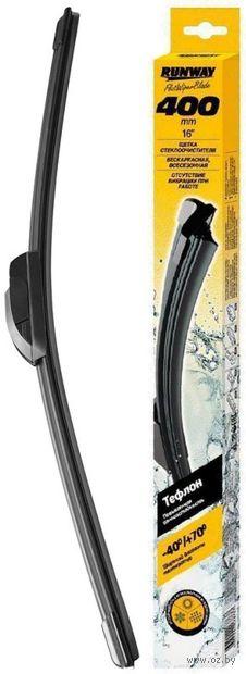 Щётка стеклоочистителя бескаркасная (40 см; арт. RW-16T) — фото, картинка