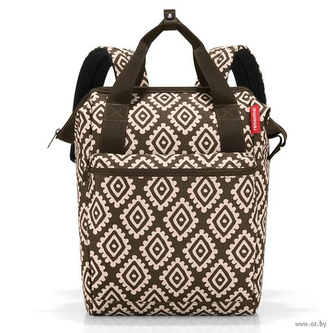 "Рюкзак-сумка ""Diamonds. Mocha"" — фото, картинка"