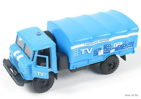 """Модель машины """"Газ 66. Телевидение"""" (масштаб: 1/43)"""