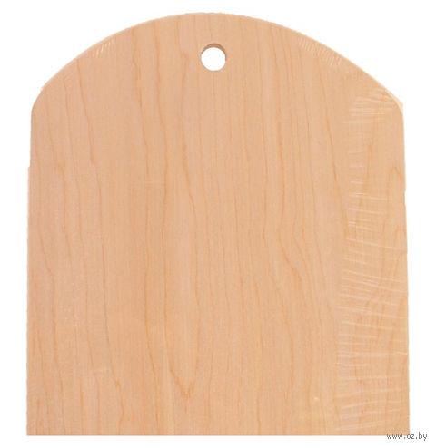 Доска разделочная деревянная (24,5х29 см; арт. BB101254)