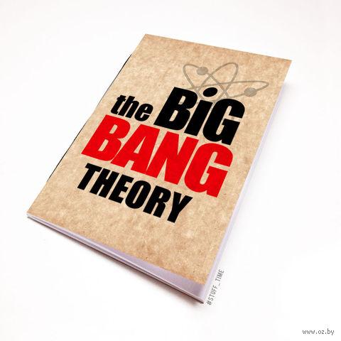 "Блокнот крафт ""Теория большого взрыва"" А5 (094)"
