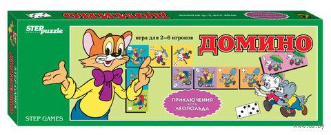 """Домино """"Приключения кота Леопольда"""" — фото, картинка"""