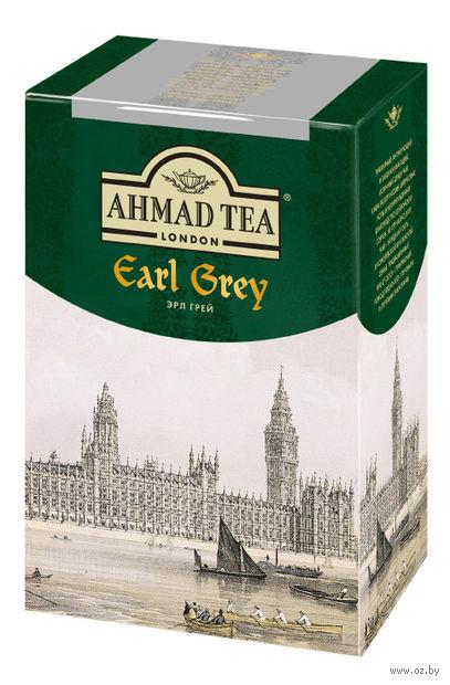 """Чай черный листовой """"Ahmad Tea. Эрл Грей"""" (100 г) — фото, картинка"""