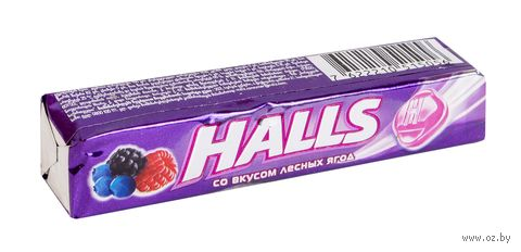 """Леденцы """"Halls. Лесные ягоды"""" (25 г) — фото, картинка"""