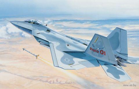"""Сборная модель """"Многоцелевой истребитель F-22 Raptor"""" (масштаб: 1/48) — фото, картинка"""