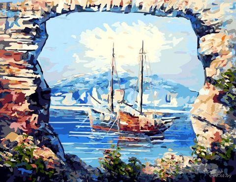 """Картина по номерам """"В тихой бухте"""" (400х500 мм)"""