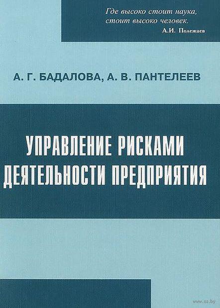 Управление рисками деятельности предприятия. Анна Бадалова, Андрей Пантелеев