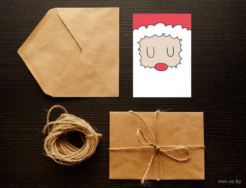 "Открытка ""Merry Christmas. Happy New Year"" (арт. 26) — фото, картинка"