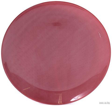 "Тарелка стеклянная ""Arty Bordeaux"" (260 мм) — фото, картинка"