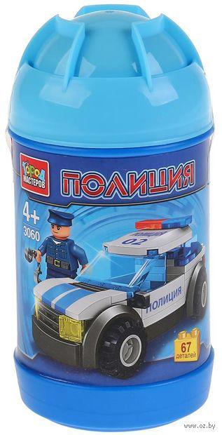 """Конструктор """"Полиция. Полицейская машина"""" (67 деталей) — фото, картинка"""