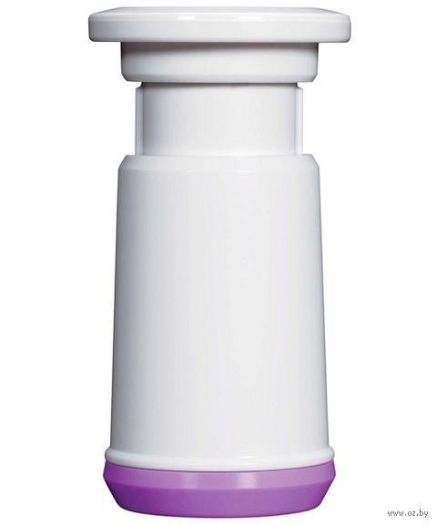 Насос для вакуумных контейнеров пластмассовый (82х50 мм)