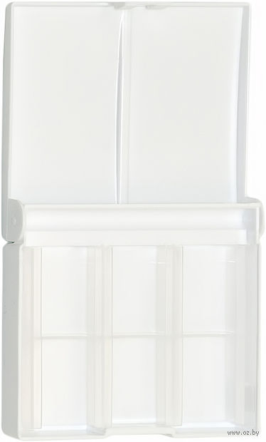 Коробка под акварель пластиковая (+ палитра на 12 цветов)