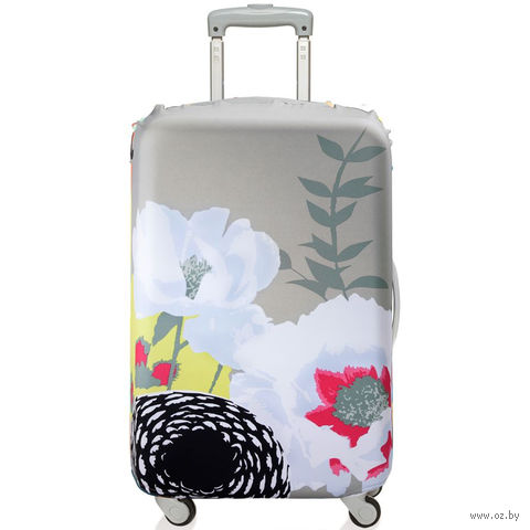 """Чехол для чемодана """"Dahlia"""" (большой)"""