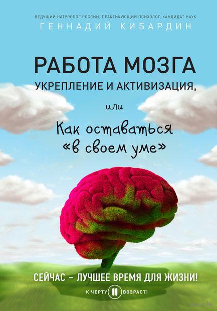 Работа мозга: укрепление и активизация. Геннадий Кибардин