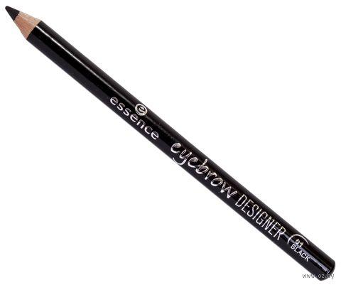 "Карандаш для бровей ""Eyebrow designer"" (тон: 01, black) — фото, картинка"