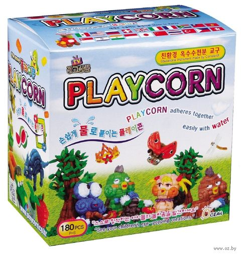 "Набор для творчества ""Playcorn. Малый"" — фото, картинка"