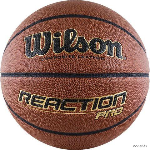 """Мяч баскетбольный Wilson """"Reaction Pro"""" №7 — фото, картинка"""