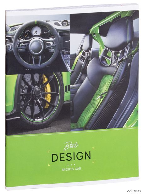"""Тетрадь полуобщая в клетку """"Авто. Interior Car"""" (48 листов; в ассортименте) — фото, картинка"""