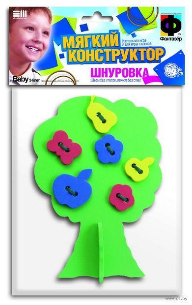 "Мягкий конструктор-шнуровка ""Дерево с плодами"" — фото, картинка"