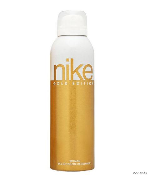"Дезодорант парфюмерный для женщин ""Nike. Gold Edition"" (200 мл)"