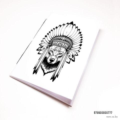 """Блокнот """"Волк"""" (А7; арт. 777) — фото, картинка"""