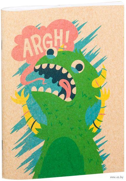 """Блокнот крафт """"Динозавр"""" А5 (098)"""