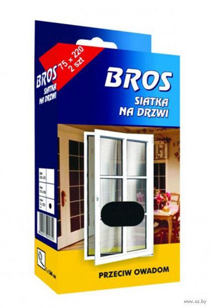 """Сетка для дверей и окон от насекомых """"Bros"""" (140х220 см) — фото, картинка"""