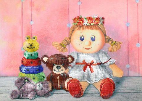 "Вышивка бисером ""Игрушки для Алисы"" (330х300 мм) — фото, картинка"