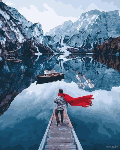 """Картина по номерам """"Норвежские фьорды"""" (400х500 мм) — фото, картинка"""