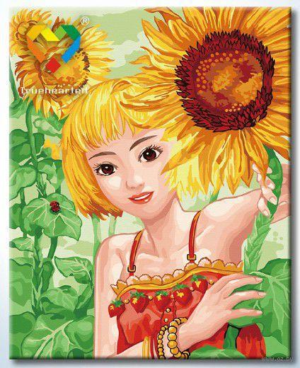 """Картина по номерам """"Солнечное лето"""" (400x500 мм; арт. HB4050190)"""