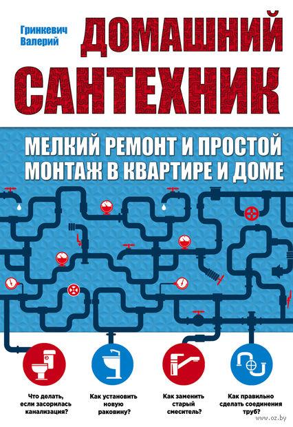 Домашний сантехник (мелкий ремонт и простой монтаж в квартире и доме). Валерий Гринкевич