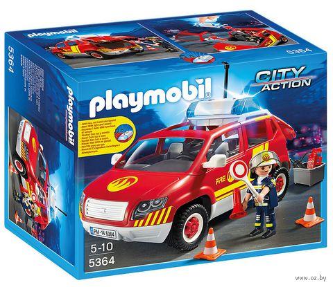 """Игровой набор """"Пожарная машина командира"""" (со световыми и звуковыми эффектами)"""