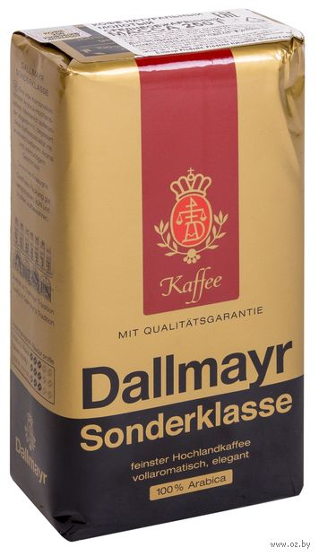 "Кофе молотый ""Dallmayr. Sonderklasse"" (250 г) — фото, картинка"