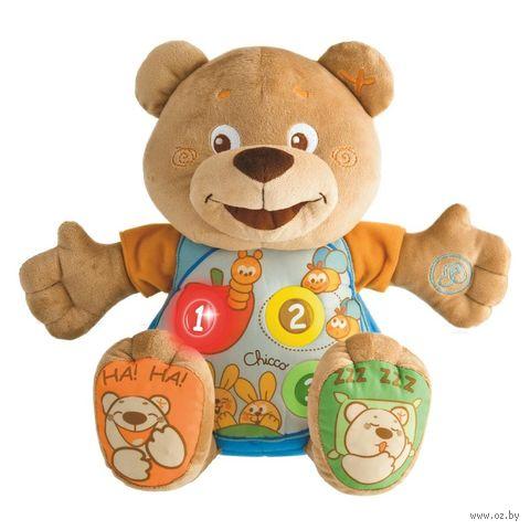"""Мягкая интерактивная игрушка """"Говорящий Мишка Teddy"""" (30 см; со световыми эффектами) — фото, картинка"""