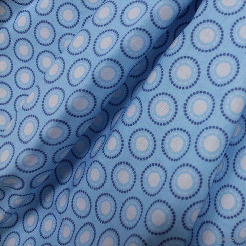 """Ткань """"Разноцветные круги"""" №3 (48х50 см) — фото, картинка"""