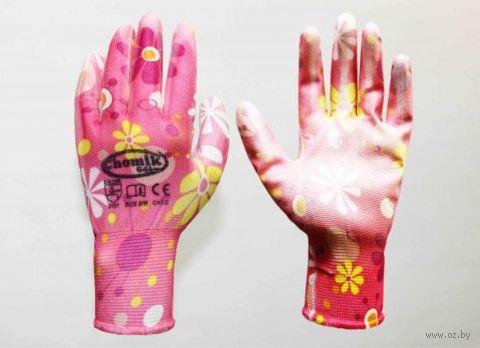 Перчатки для садовых работ полиуретановые (S; 1 пара; арт. IDA1191) — фото, картинка