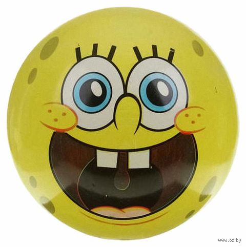 "Мяч ""Губка Боб"" (23 см) — фото, картинка"