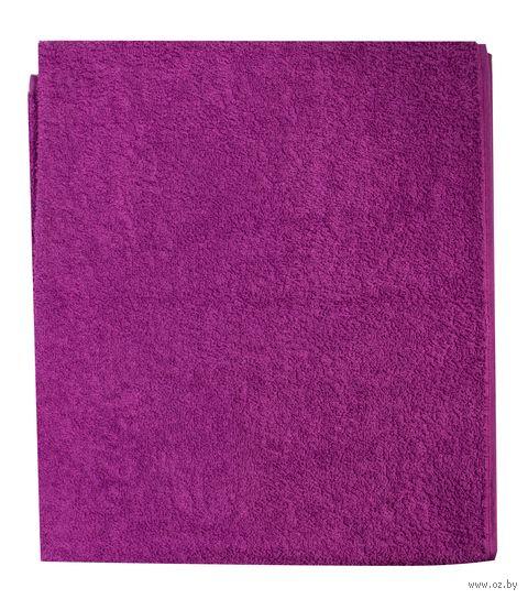 Полотенце махровое (70x140 см; сиреневое) — фото, картинка