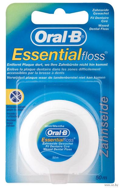 """Зубная нить """"Essentialfloss"""" (невощеная, 50 м) — фото, картинка"""