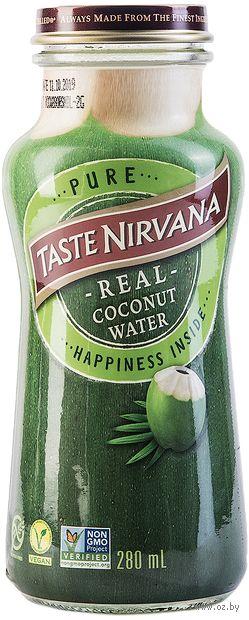 "Вода кокосовая ""Taste Nirvana"" (280 мл) — фото, картинка"