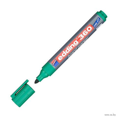 "Маркер для доски ""Edding 360"" (зеленый) — фото, картинка"