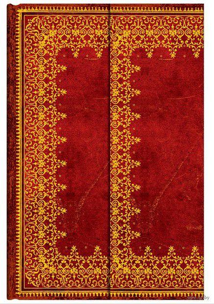 """Записная книжка Paperblanks """"Фольгированное тиснение"""" в линейку (формат: 130*180 мм, средний)"""