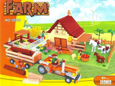 """Конструктор """"Ферма. Ферма дяди Уилсона"""" (626 деталей)"""